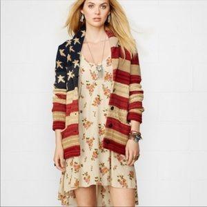 Ralph Lauren Denim & Supply American Flag Cardigan